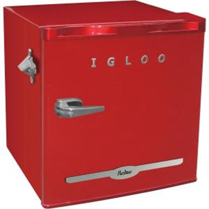 Picture of Igloo 1.6 cu ft Retro Bar Fridge with Side Bottle Opener