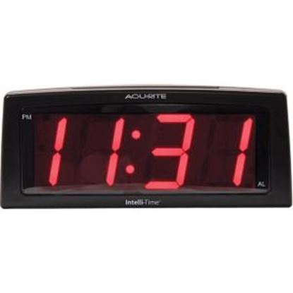 Picture of AcuRite 7-inch Jumbo Intelli-Time Alarm Clock