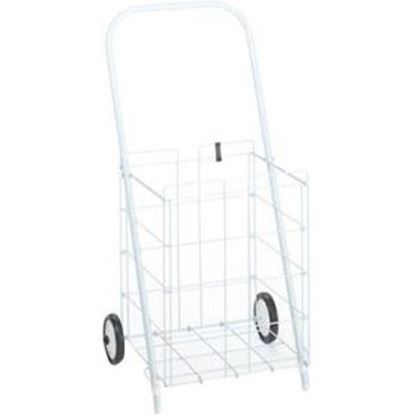 Picture of Homz 2-wheel Small Wire Tote Cart