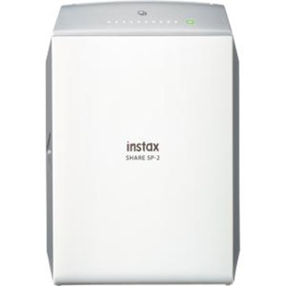 Picture of instax SHARE SP-2 Zero Ink Printer - Color - Photo Print - Portable - Silver