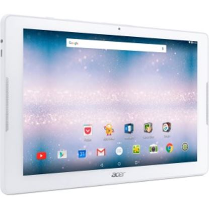 """Picture of Acer ICONIA B3-A30-K57G Tablet - 10.1"""" - 1 GB DDR3L SDRAM - MediaTek MT8163 - ARM Cortex A53 Quad-core (4 Core) 1.30 GHz - 16 GB - Android 6.0 Marshmallow - 1280 x 800 - In-plane Switching (IPS) Technology"""