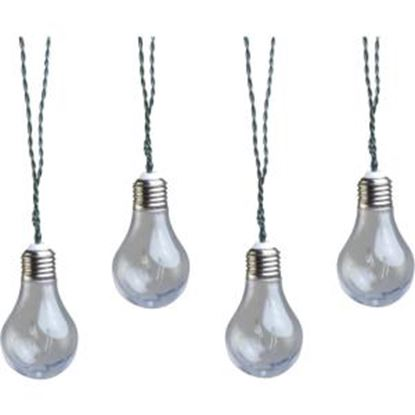 Picture of Coleman Cable 91107 Plug-In LED Vintage Bulb String Lights