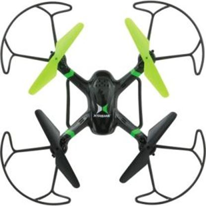 Picture of Xtreme Cables Black Raptor 6 Axis Quadcopter Drone with HD Camera