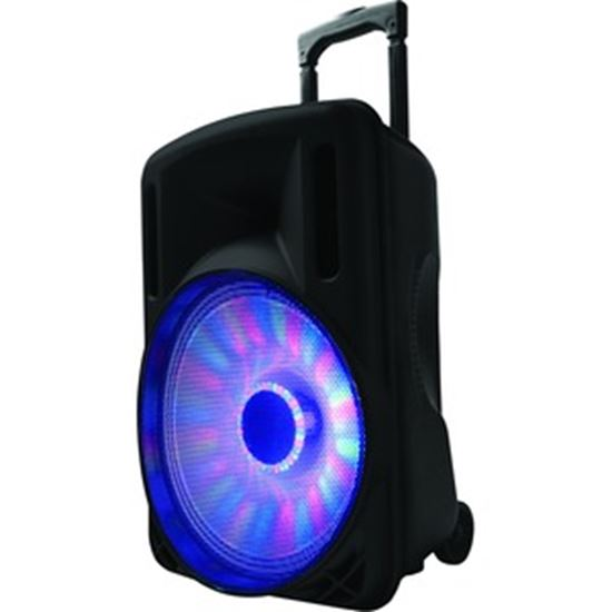 Picture of IQ Sound Portable Bluetooth Speaker System - 60 W RMS - Black