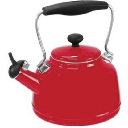 Picture of Chantal Enamel on Steel Vintage Teakettle (1.7 Qt.)