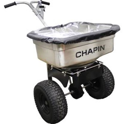 Picture of Chapin 82500 100-Pound Stainless Steel Professional Salt Spreader