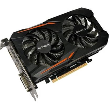 Picture of Gigabyte Ultra Durable 2 GV-N105TOC-4GD GeForce GTX 1050 Ti Graphic Card - 4 GB GDDR5