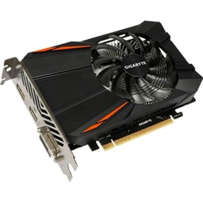 Picture of Gigabyte Ultra Durable 2 GV-N105TD5-4GD GeForce GTX 1050 Ti Graphic Card - 4 GB GDDR5