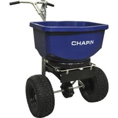 Picture of Chapin 82108B 100-Pound Professional Salt and Ice Melt Spreader