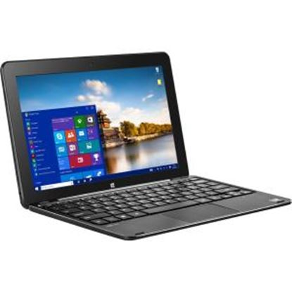 """Picture of BITT CORE+ 10.1"""" Touchscreen LCD 2 in 1 Notebook - Intel Atom x5 x5-Z8300 Quad-core (4 Core) 1.44 GHz - 4 GB - 32 GB SSD - 1280 x 800 - In-plane Switching (IPS) Technology - Hybrid - Metal Black"""