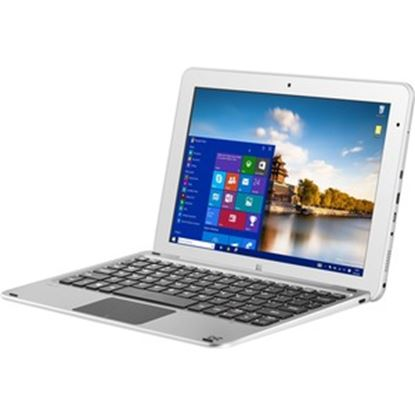 "Picture of BITT CORE+ 10.1"" Touchscreen 2 in 1 Notebook - 1280 x 800 - Atom x5 x5-Z8300 - 4 GB RAM - 128 GB SSD - Metal Silver"