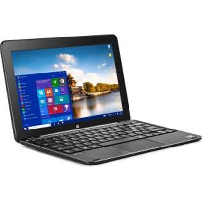 """Picture of BITT CORE+ 10.1"""" Touchscreen LCD 2 in 1 Notebook - Intel Atom x5 x5-Z8300 Quad-core (4 Core) 1.44 GHz - 4 GB - 128 GB SSD - 1280 x 800 - In-plane Switching (IPS) Technology - Hybrid - Metal Black"""