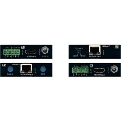 Picture of Key Digital HDBaseT/HDMI via Single CAT5e/6 (Tx + Rx Set) Extenders with HDR10, HDCP2.2, 4K