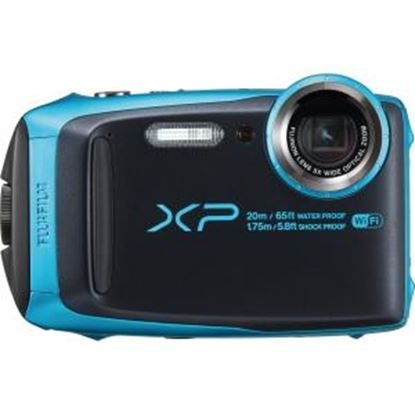 Picture of Fujifilm FinePix XP120 16.4 Megapixel Compact Camera - Sky Blue