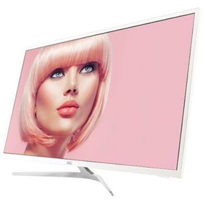 """Picture of AOC 32"""" Full HD LCD Monitor - 16:9 - Silver, White"""
