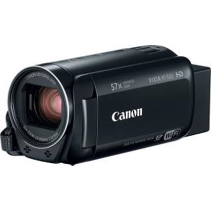 """Picture of Canon VIXIA HF R800 Digital Camcorder - 3"""" - Touchscreen LCD - CMOS - Full HD - Black"""