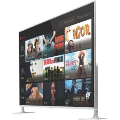 """Picture of LeEco Super4 X L654UCNN 65"""" Smart LED-LCD TV - 4K UHDTV - Silver"""