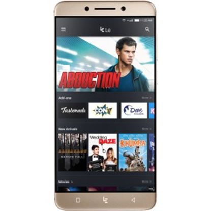"""Picture of LeEco Le Pro3 LEX727 64 GB Smartphone - Gold - 5.5"""" LCD 1080 x 1920 Full HD Touchscreen - 4 GB RAM - 4G - Qualcomm - 16 Megapixel Rear - Android 6.0 Marshmallow - SIM-free"""