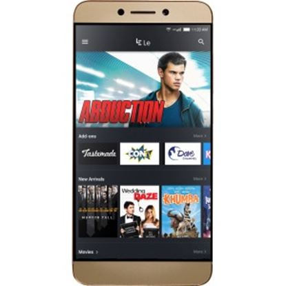 """Picture of LeEco Le S3 X522 32 GB Smartphone - Gold - 5.5"""" LCD 1920 x 1080 Full HD Touchscreen - 3 GB RAM - 4G - Qualcomm - 16 Megapixel Rear - Android 6.0 Marshmallow - SIM-free"""