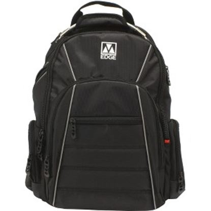 "Picture of M-Edge Cargo BPK-CA6-PO-B Carrying Case (Backpack) for 17"" Notebook - Black"