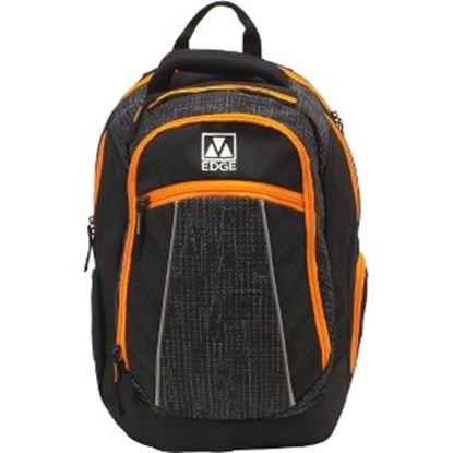 "Picture of M-Edge Commuter BPK-CO6-PO-BO Carrying Case (Backpack) for 17"" Notebook - Black, Orange"