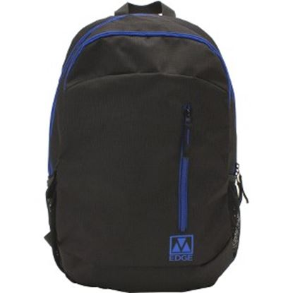 "Picture of M-Edge Flex BPK-FL6-N-BB Carrying Case (Backpack) for 15"" Notebook - Black, Blue"