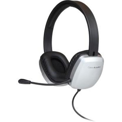 Picture of Cyber Acoustics AC-6010 Stereo Headset w/ Single Plug and Y-adapter