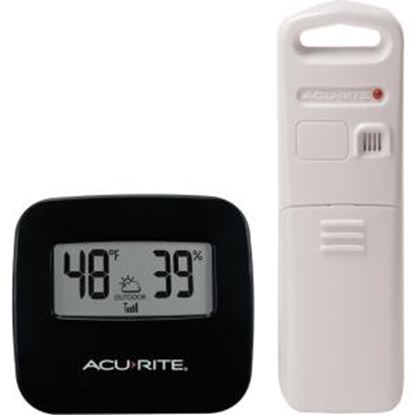 Picture of AcuRite Wireless Thermometer with Indoor/Outdoor Temperature and Humidity Sensor