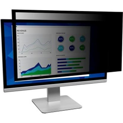 "Picture of 3M™ Framed Privacy Filter for 24"" Widescreen Monitor (16:10)"