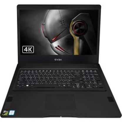 "Picture of EVGA 17.3"" LCD Gaming Notebook - Intel Core i7 (6th Gen) i7-6820HK Quad-core (4 Core) 2.70 GHz - 32 GB DDR4 SDRAM - 1 TB HDD - 256 GB SSD - Windows 10 Home 64-bit - 3840 x 2160 - In-plane Switching (IPS) Technology"