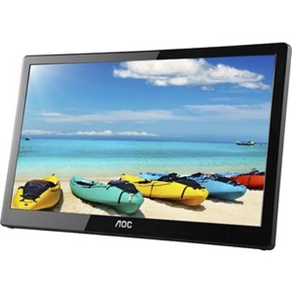 "Picture of AOC I1659FWUX 16"" Full HD LED LCD Monitor - 16:9 - Glossy Piano Black"