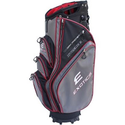 Picture of Exotics Xtreme 3 Carrying Case Glove, Beverage, Garment, Umbrella, Towel - Black, Red, Charcoal