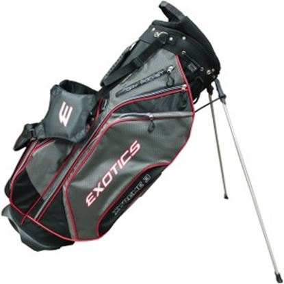 Picture of Exotics Xtreme 3 Carrying Case Bottle, Pen, Accessories, Golf, Scorebook - Black, Charcoal, Red