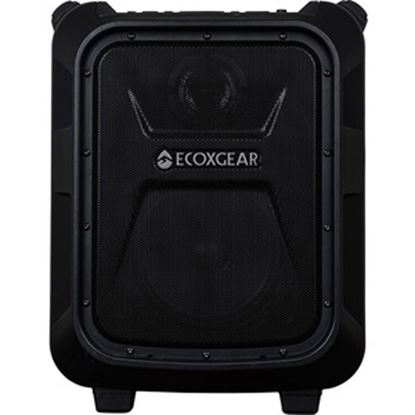 Picture of ECOXGEAR EcoBoulder GDI-EXBM901 3.0 Portable Bluetooth Speaker System - 100 W RMS - Black