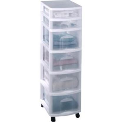 Picture of Homz 6-Drawer Medium Cart