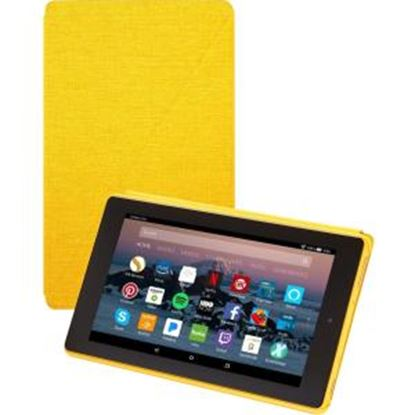 "Picture of Amazon Carrying Case (Book Fold) for 8"" Tablet - Canary Yellow"