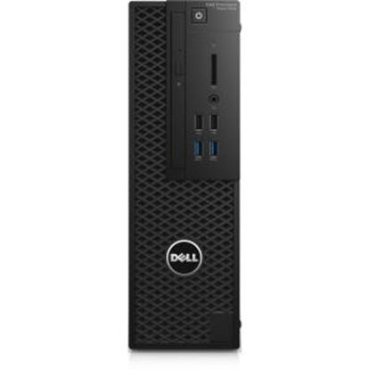 Picture of Dell Precision 3000 3420 Workstation - Intel Core i5 (7th Gen) i5-7600 Quad-core (4 Core) 3.50 GHz - 16 GB DDR4 SDRAM - 1 TB HDD - AMD FirePro W4100 2 GB Graphics - Windows 10 Pro 64-bit (English/French/Spanish) - Small Form Factor