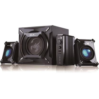 Picture of Genius GX Gaming SW-G2.1 2000 2.1 Speaker System - 45 W RMS - Wall Mountable - Black