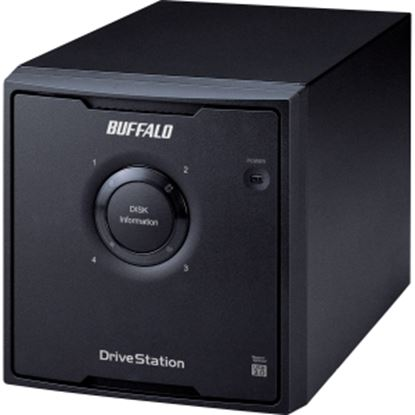 Picture of BUFFALO DriveStation Quad USB 3.0 4-Drive 12 TB Desktop DAS (HD-QH12TU3R5)