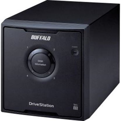 Picture of BUFFALO DriveStation Quad USB 3.0 4-Drive 24 TB Desktop DAS (HD-QH24TU3R5)