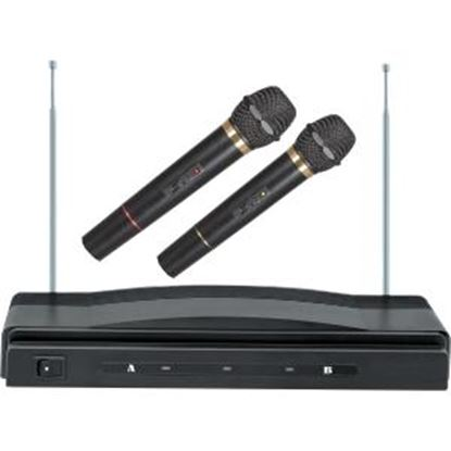 Picture of Supersonic Professional Wireless Dual Microphone System