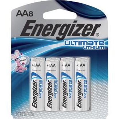 Picture of Energizer e2 L91SBP-8 Lithium Digital Camera Battery