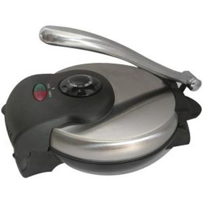 Picture of Brentwood Tortilla Maker Non-Stick in Stainless Steel TS-126
