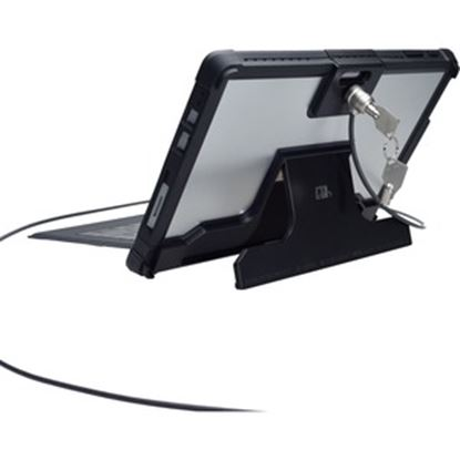 "Picture of CTA Digital ""Security Case with Kickstand and Anti-Theft Cable for Surface Pro 4 """