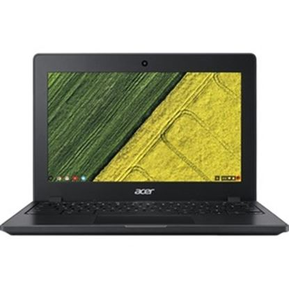"Picture of Acer C771T C771T-C1WS 11.6"" Touchscreen Chromebook - HD - 1366 x 768 - Intel Celeron 3855U Dual-core (2 Core) 1.60 GHz - 4 GB RAM - 32 GB Flash Memory"