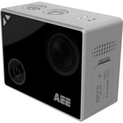 """Picture of AEE Lyfe Digital Camcorder - 1.8"""" - Touchscreen LCD - CMOS - 4K - Silver, Black"""
