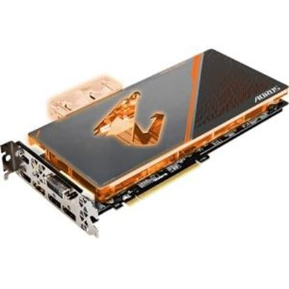 Picture of Aorus GV-N108TAORUSX WB-11GD GeForce GTX 1080 Ti Graphic Card - 11 GB GDDR5X