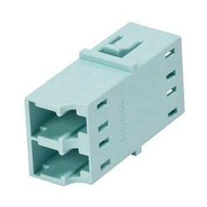 Picture of INFRA Brand - LC Female to LC Female MMF Duplex Fiber Optic Adapter - Lifetime Warranty