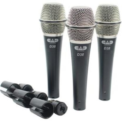 Picture of CAD Audio D38X3 Microphone
