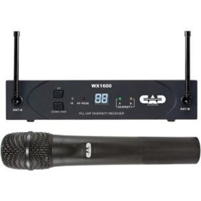 Picture of CAD Audio UHF Wireless Cardioid Dynamic Handheld Microphone System